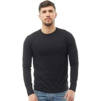 French Connection Mens Long Sleeve T-Shirt Black