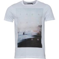 French Connection Mens Beach T-Shirt White