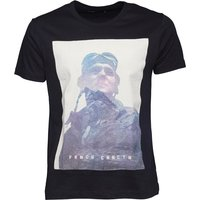 French Connection Mens Explore T-Shirt Marine
