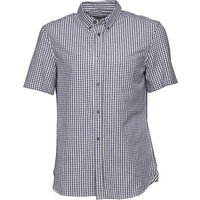 French Connection Mens Gingham Shirt Marine