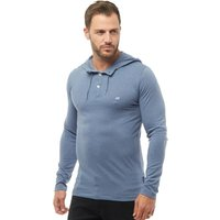 French Connection Mens T-Sneazy Hoody Light Blue Melange