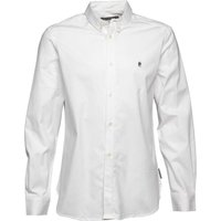French Connection Mens Oxford Long Sleeve Shirt White