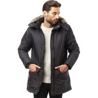 French Connection Mens Parka Black