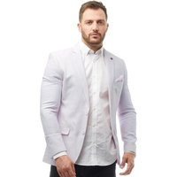 French Connection Mens Linen Blazer Dusky Pink