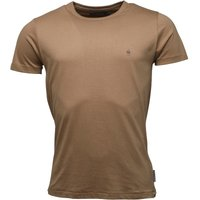 French Connection Mens Crew Neck T-Shirt Camel