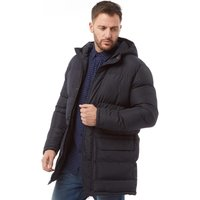 French Connection Mens Row Parka Marine