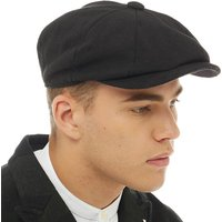 French Connection Mens Baker Boy Hat Black