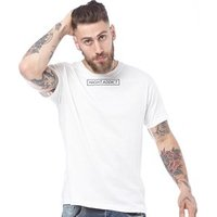 Night Addict Mens Box T-Shirt Off White/Black