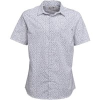 Onfire Mens Short Sleeve AOP Shirt White