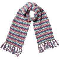 Onfire Womens Jacquard Scarf Multi