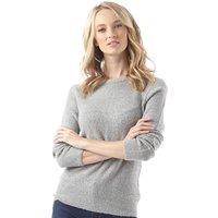 Onfire Womens Crew Neck Sweater Grey Melange