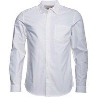 Onfire Mens Long Sleeve Oxford Shirt White