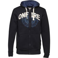 Onfire Mens Zip Through Hoody Navy