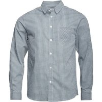 Onfire Mens Long Sleeve Yarn Dyed Checked Shirt Green/Navy/White
