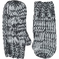 Onfire Womens Cable Mittens Charcoal Marl