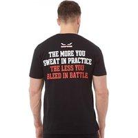 Onfire Mens Battle T-Shirt Black