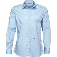 Moschino Mens Formal Long Sleeve Shirt Light Blue