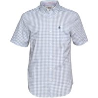 Original Penguin Mens Three Colour Gingham Shirt Infinity