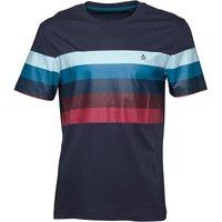 Original Penguin Mens Stripe Print T-Shirt Dress Blues