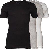 Original Penguin Mens Three Pack T-Shirts Black/White/Grey