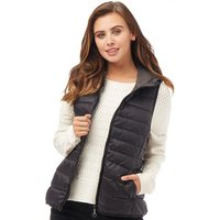 Only Womens Tahoe Quilted Waistcoat Black