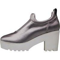 Ønsker Womens Rosa Ankle Boots Metallic Grey