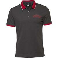 883 Police Mens Grover Polo Marl Grey