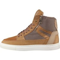 883 Police Mens Chain Trainers Tan