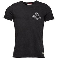 883 Police Mens Cracken T-Shirt Black