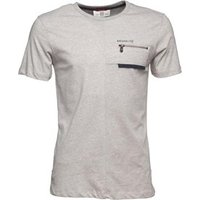 883 Police Mens Draco Jersey T-Shirt Ecru