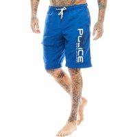 883 Police Mens Steford Swim Shorts Blue