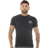 883 Police Mens Bard T-Shirt Black