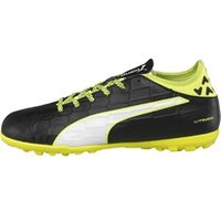 Puma Junior evoTOUCH 3 TT Astro Football Boots Black/White/Safety Yellow
