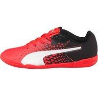 Puma Junior evoSPEED Sala Graphic Football Boots Red/White/Black