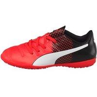 Puma Junior evoPOWER 4.3 TT Astro Football Boots Red/White/Black