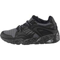 Puma Mens Blaze Tech Mesh Trainers Grey/Black