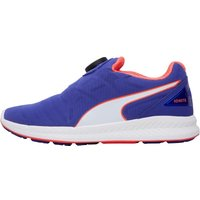 Puma Womens IGNITE Disc Neutral Running Shoes Blue/White/Red