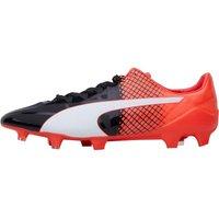 Puma Mens evoSPEED 1.5 FG Football Boots Black/White/Red