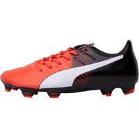Puma Mens evoPOWER 3.3 FG Football Boots Red/White/Black