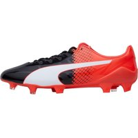 Puma Mens evoSPEED SL Synthetic II FG Football Boots Black/White/Red