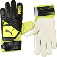 Puma Mens Elite 2 RC Goalkeeper Gloves Black/Fluorescent Yellow