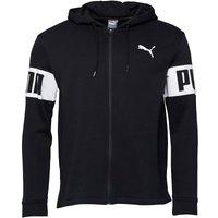 Puma Mens Rebel Full Zip Hoody Black