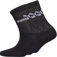 Puma Boys Three Pack Crew Socks Black