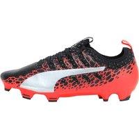 Puma Mens evoPOWER Vigor 2 Graphic FG Football Boots Black/White/Fiery Coral