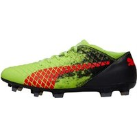 Puma Mens Future 18.4 FG/AG Football Boots Fizzy Yellow/Red/Puma Black