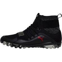 Puma Mens 365 Ignite High ST Turf Astro Football Boots Puma Black/Flame Scarlet