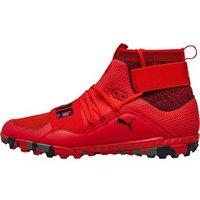 Puma Mens 365 Ignite High ST Turf Astro Football Boots Flame Scarlet/Puma Black