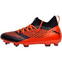 Puma Mens Future 2.3 Netfit FG/AG Football Boots Puma Black/Shocking Orange