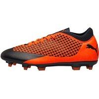 Puma Mens Future 2.4 FG/AG Football Boots Puma Black/Shocking Orange