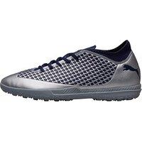 Puma Mens Future 2.4 TT Astro Football Boots Silver/Blue/Navy
